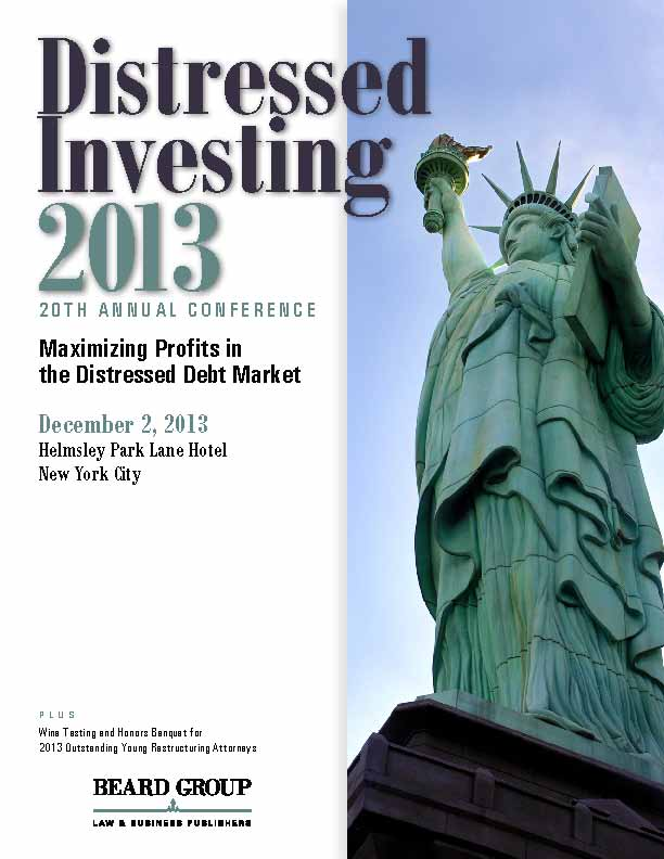 20th Annual Distressed Investing conference