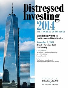 21st Annual Distressed Investing conference