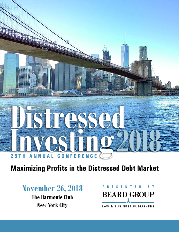 25th Annual Distressed Investing conference