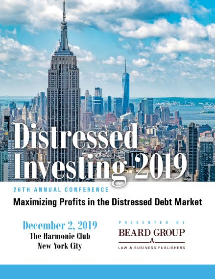 26th Annual Distressed Investing conference