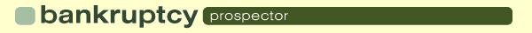Bankruptcy Prospector